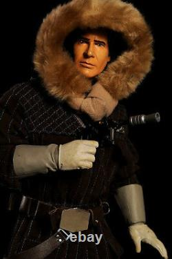 1/4 Scale 19 IN STAR WARS TALKING HOTH HAN SOLO FIGURE for sideshow hot toys