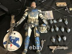 1/6 Scale Sideshow Star Wars The Clone Wars Arc Trooper Fives Figure