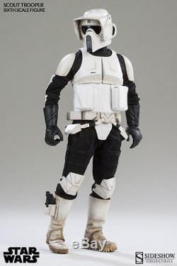 1/6 Scale Star Wars Biker Scout Trooper Figure Sideshow Collectibles