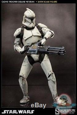 1/6 Scale Star Wars Clone Trooper Deluxe Veteran Sideshow Collectibles