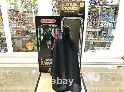 1977 Kenner Star Wars Large Action Figure 12 Scale 15 Inch Darth Vader Mib