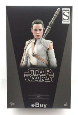 2016 Hot Toys MMS-377 Star Wars Rey Resistance Outfit 1/6 Scale 12 Figure