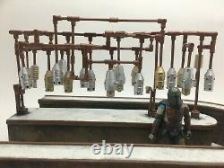 CUSTOM STAR WARS STYLE CANTINA DIORAMA BAR for 3.75 INCH 118 SCALE FIGURES