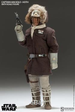 Captain Han Solo Hoth, Sideshow Star Wars 1/6th Scale Figure, # 21341 IN STOCK