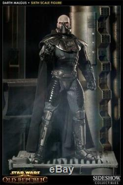 DARTH MALGUS SIXTH SCALE FIGURE EXCLUSIVE Sideshow Collectibles SEALED SHIPPER