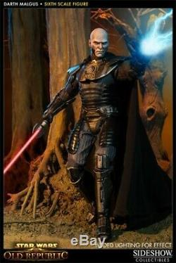 Darth Malgus 1/6 Scale Figure by Sideshow Collectibles Exclusive Edition New