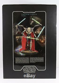 GENERAL GRIEVOUS PREMIUM FORMAT FIGURE STAR WARS SIDESHOW 1/4 SCALE IN BOX