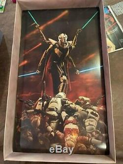 GENERAL GRIEVOUS Sideshow Collectibles Exclusive 1/6 Scale Figure Star Wars