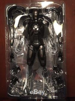 HOT TOYS SIDESHOW EXCLUSIVE IRON MAN MARK VII STEALTH 1/6 SCALE FIGURE PERFECT
