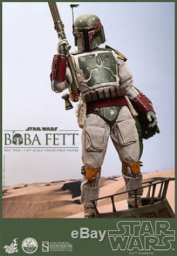 HOT TOYS STAR WARS BOBA FETT 1/4 SCALE EXCLUSIVE 18 FIGURE SIDESHOW SEALED