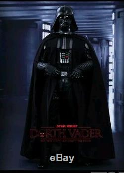 HOT TOYS Star Wars DARTH VADER 1/6 Scale Figure Episode IV A New Hope sideshow
