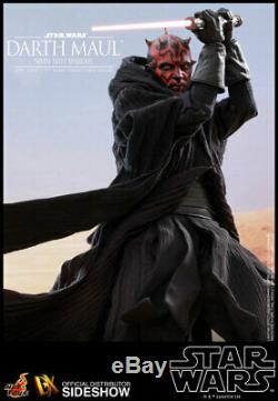 HOT TOYS Star Wars Darth Maul Deluxe with Sith Speeder Sixth Scale Figure NEW