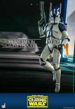 HOTTOYS 1/6 Scale 501st Battalion Clone Trooper Figure Toy TMS022