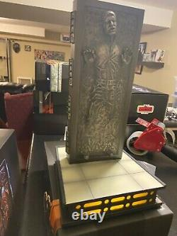 Han Solo in Carbonite 1/6 Sixth Scale Figure Star Wars Hot Toys Sideshow