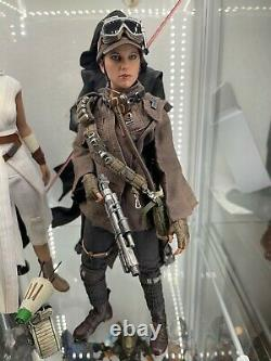 Hot Toys 1/6 Star Wars Rogue One JYN ERSO Deluxe Version Scale Figure. Read desc