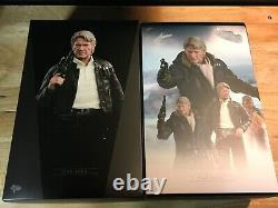 Hot Toys 1/6 scale HAN SOLO figure Star Wars VII The Force Awakens MMS374