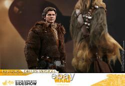 Hot Toys A Star Wars Story HAN SOLO (Deluxe) 12 Action Figure 1/6 Scale MMS492