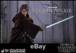 Hot Toys Anakin Skywalker Star Wars 1/6 Scale Figure Revenge of the Sith NEW