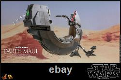 Hot Toys DX17 1/6 Scale Star Wars Darth Maul Sith Speeder Motorcycle Figure New