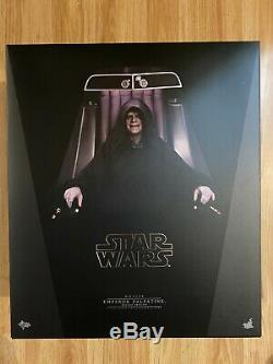 Hot Toys Emperor Palpatine Deluxe Star Wars 1/6 Sixth Scale Action Figure mms468