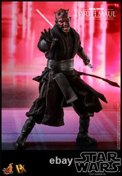 Hot Toys HT DX17 1/6 Scale Darth Maul Body Action Figure Outfits 12in. Star Wars