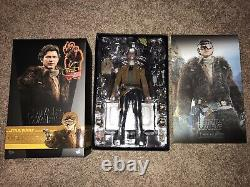 Hot Toys Han Solo Deluxe Brand New 1/6 Scale Figure Star Wars