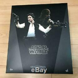 Hot Toys Han Solo and Chewbacca Star Wars EP4 1/6 Scale Action Figure Doll f11
