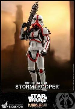 Hot Toys Incinerator Stormtrooper 1/6 Scale Figure from The Mandalorian