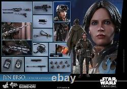 Hot Toys Jyn Erso 1/6 Scale Figure Deluxe Version Star Wars Rogue One