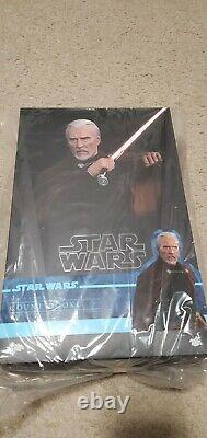 Hot Toys MMS 496 Star Wars Count Dooku 1/6 scale figure new