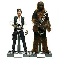 Hot Toys MMS263 Star Wars A New Hope Han Solo & Chewbacca 1/6th Scale Figure Set