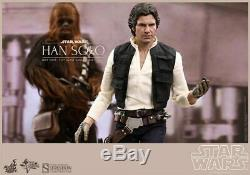 Hot Toys MMS263 Star Wars Han Solo and Chewbacca 1/6 Scale Collectible Figures