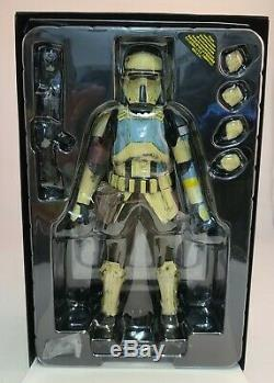 Hot Toys MMS389 Star Wars Rogue One SHORETROOPER 1/6th Scale Figure OPENED