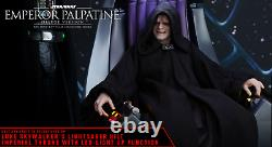 Hot Toys MMS468 ROTJ Emperor Palpatine (DELUXE) 1/6 scale figure New SEALED