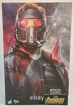 Hot Toys MMS539 Avengers Infinity War STAR-LORD 1/6th Scale Collectible Figure