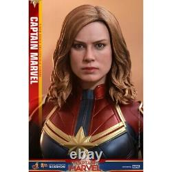 Hot Toys Marvel 16 Captain Marvel 12 Sixth Scale Action Figure Uk Stock