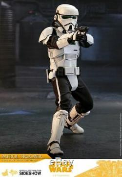 Hot Toys Patrol Trooper 1/6 Scale Figure Solo A Star Wars Story MMS494 Unopened