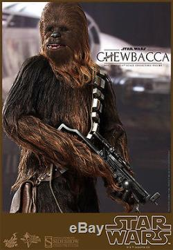Hot Toys STAR WARS HAN SOLO & CHEWBACCA 1/6 Sixth Scale Figure Set of 2 SOLD OUT