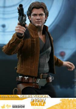 Hot Toys Solo A Star Wars Story HAN SOLO 1/6th Deluxe Scale Figure MMS492