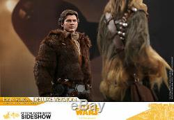 Hot Toys Solo A Star Wars Story Young Han Solo Deluxe 1/6 Scale Figure MMS492