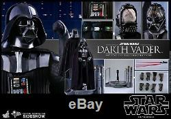 Hot Toys Star War The Empire Strikes Back Darth Vader 1/6 Scale Figure NEW