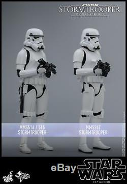 Hot Toys Star Wars 1/6th scale Stormtrooper Figure (Deluxe Version) MMS515