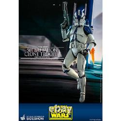 Hot Toys Star Wars 501st Battalion Clone Trooper Deluxe 16 Scale Action Figure