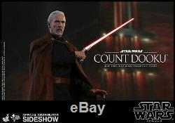 Hot Toys Star Wars Attack of the Clones COUNT DOOKU 1/6th Scale Figure MMS496