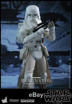 Hot Toys Star Wars Battlefront Snowtrooper 1/6 Scale Action Figures Set NEW MIMB