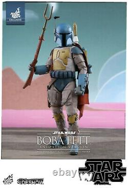 Hot Toys Star Wars Boba Fett Animation Version 16 Scale Action Figure 902997