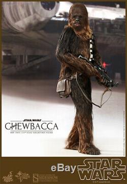 Hot Toys Star Wars Chewbacca 1/6 Scale Figure A New Hope Sideshow Wookiee New