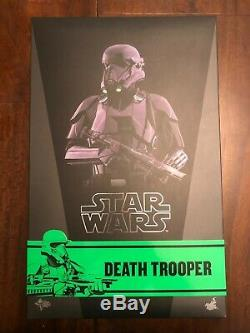 Hot Toys Star Wars Death Trooper 1/6 Scale Rogue One MMS398 Figure Sixth Scale
