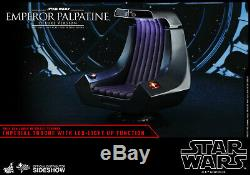 Hot Toys Star Wars Emperor Palpatine Deluxe 1/6 Scale Figure Imperial Throne