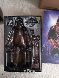 Hot Toys Star Wars Episode IV Chewbacca 1/6 Scale Latest Figure not Palitoy
